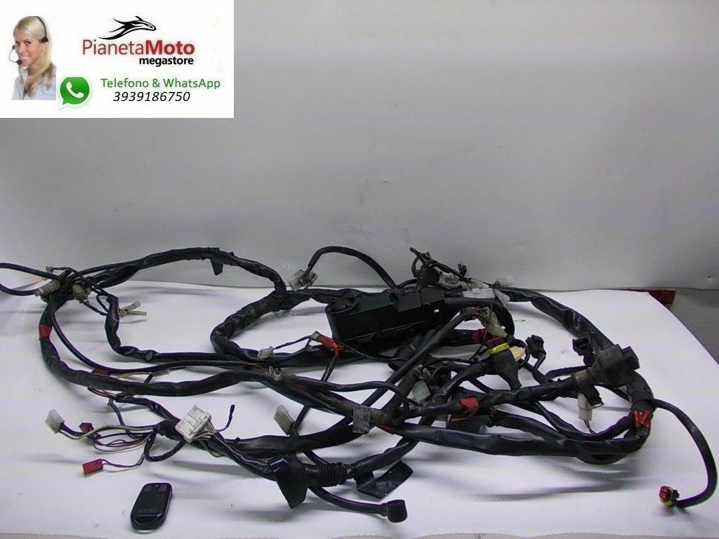 Schema Elettrico Max 250 : Impianto elettrico antifurto cablaggio aprilia scarabeo