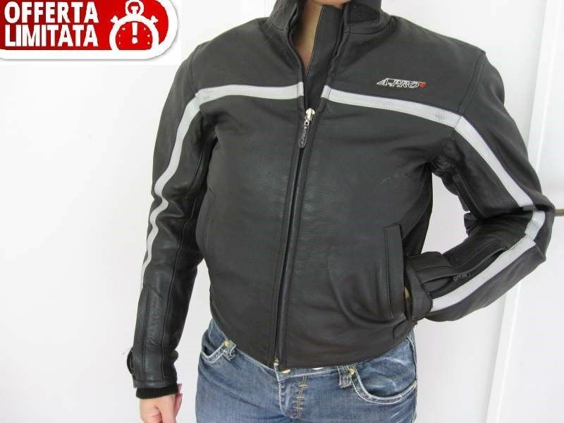 buy online 0c35f abedc GIUBBINO GIACCA MOTO IN PELLE MARCA A-PRO TAGLIA L, S ...